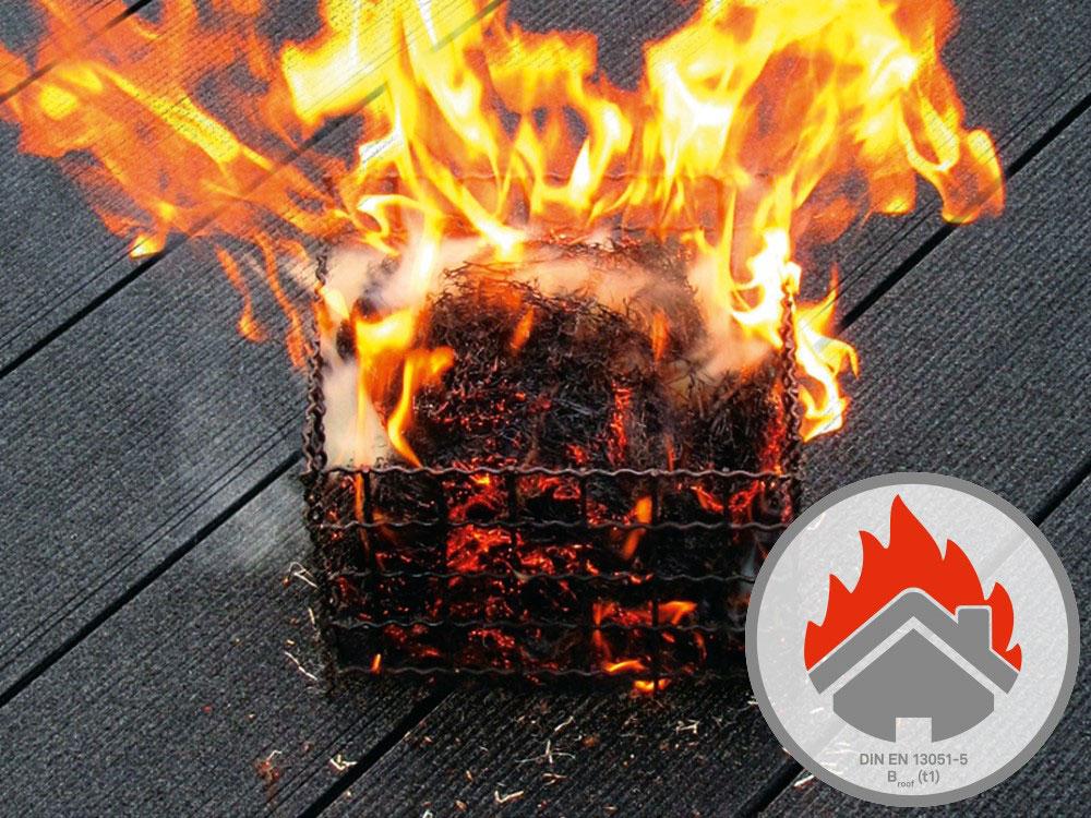 Dosky CHARACTER MASSIVE a MAJESTIC MASSIVE PRO sa pýšia certifikáciou požiarnej odolnosti BROOF (t1).