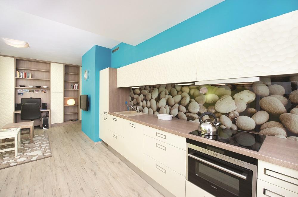 vinylová podlaha v kuchyni