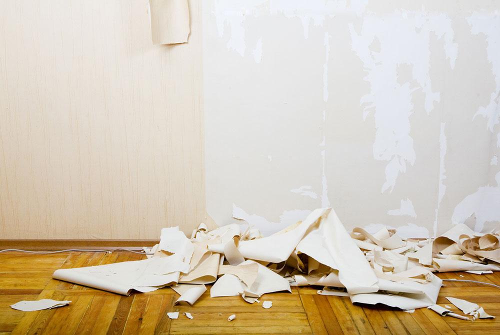 odstraňovanie tapety