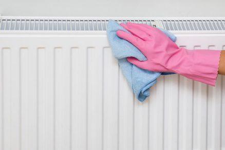 čistenie radiátora