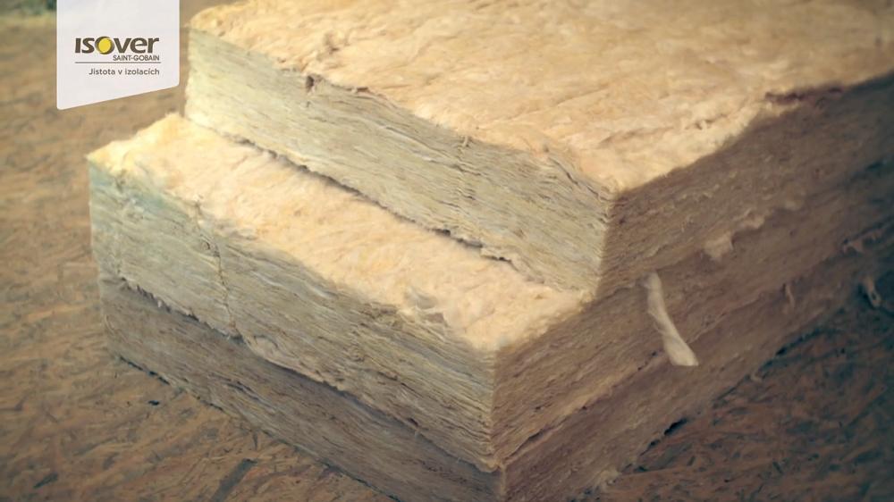 príprava izolácie na zateplenie strechy
