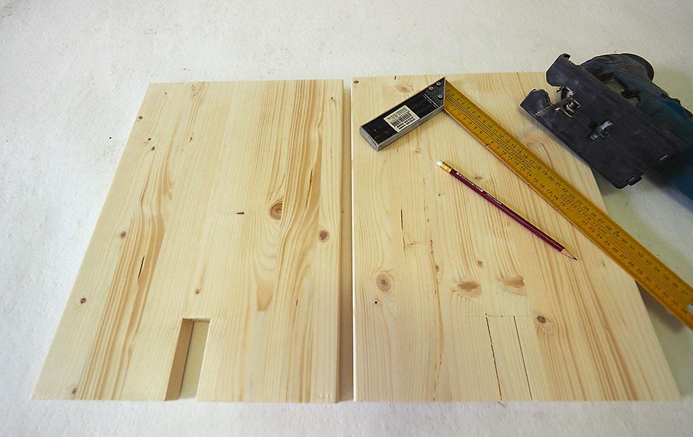 výroba drevenej lavice