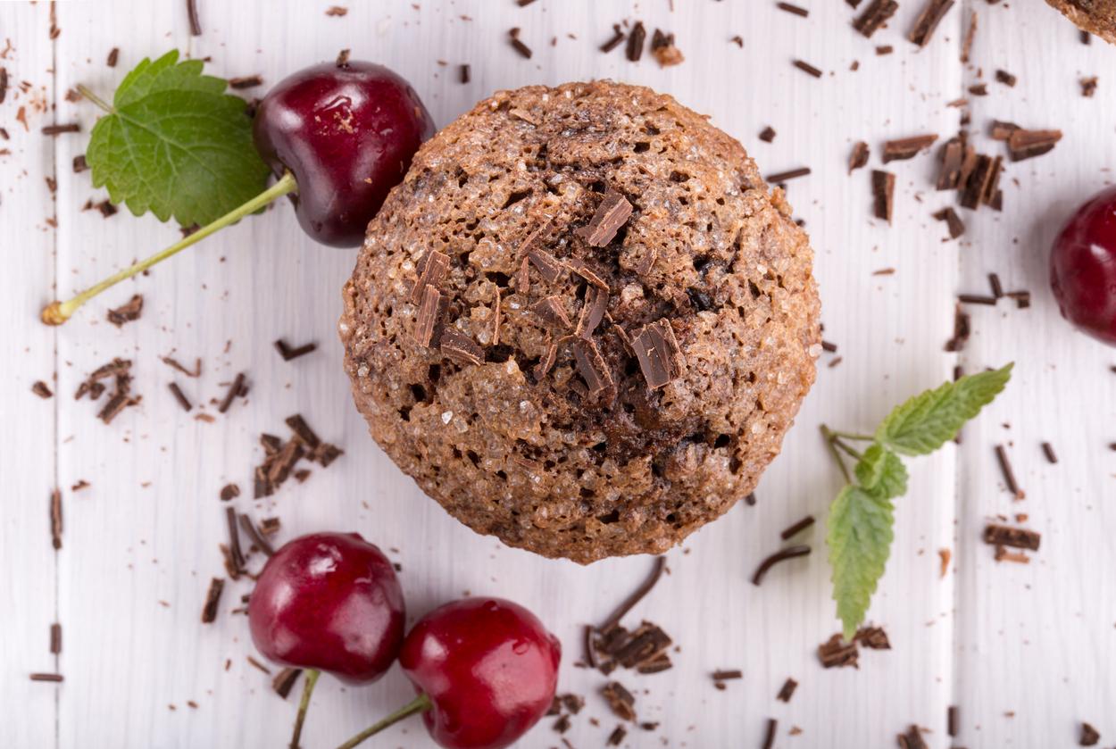 Čerešňové muffiny
