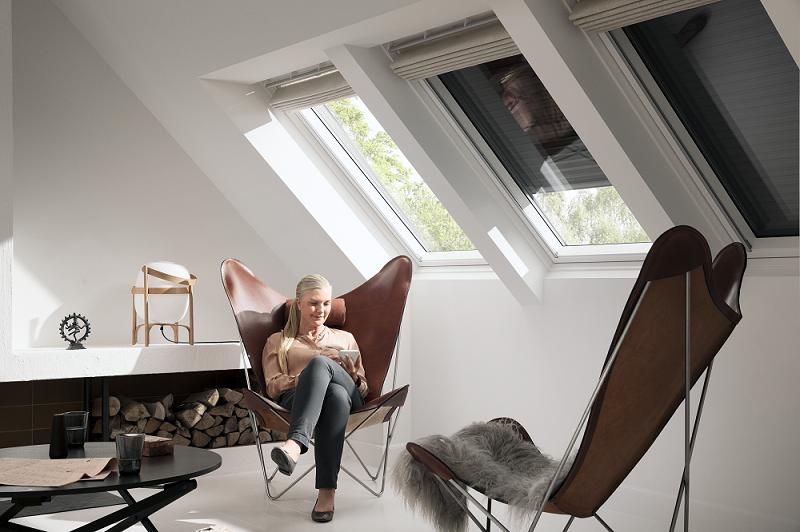 vonkajšia roleta na strešných oknách