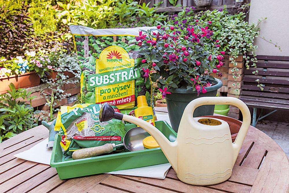 záhradnícky substrát pre výsev