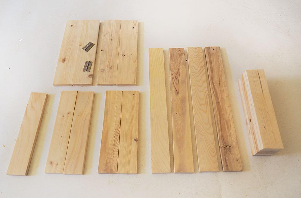 materiál na výrobu pracovného stola