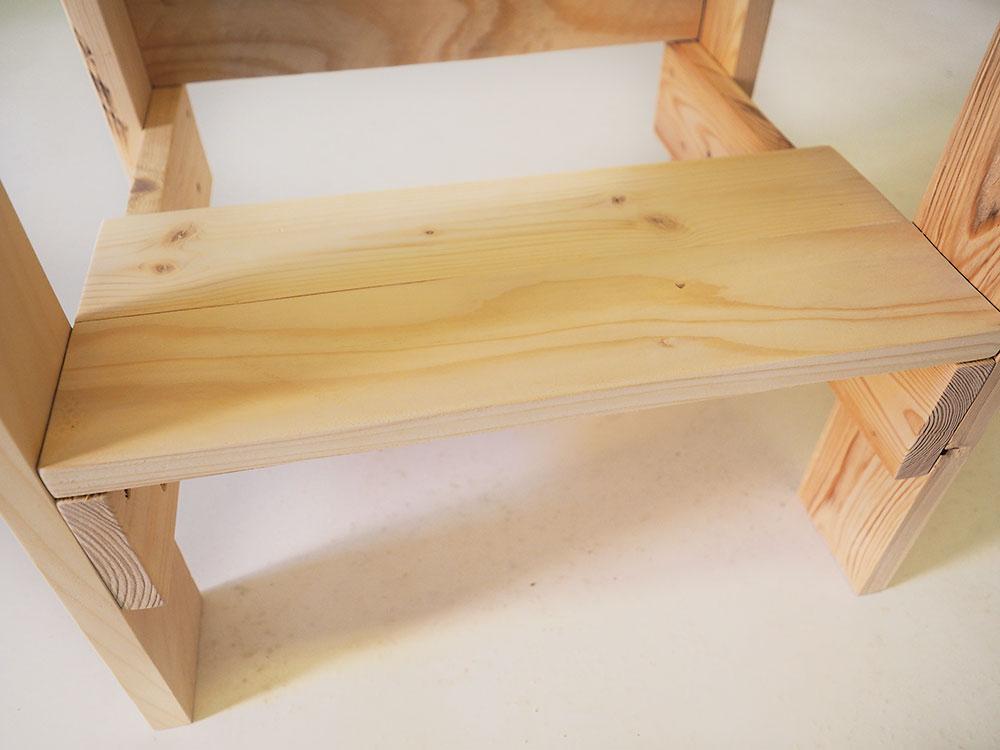 výroba stolčeku do dielne