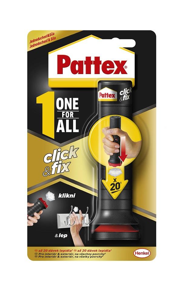 Montážne lepidlo Pattex Click & Fix
