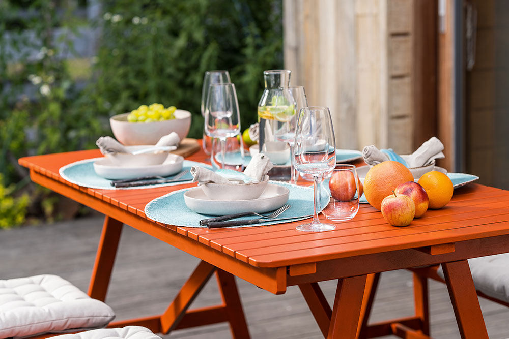 renovácia záhradného nábytku