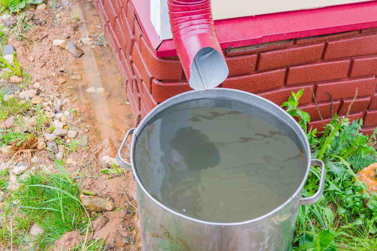sud na dažďovú vodu