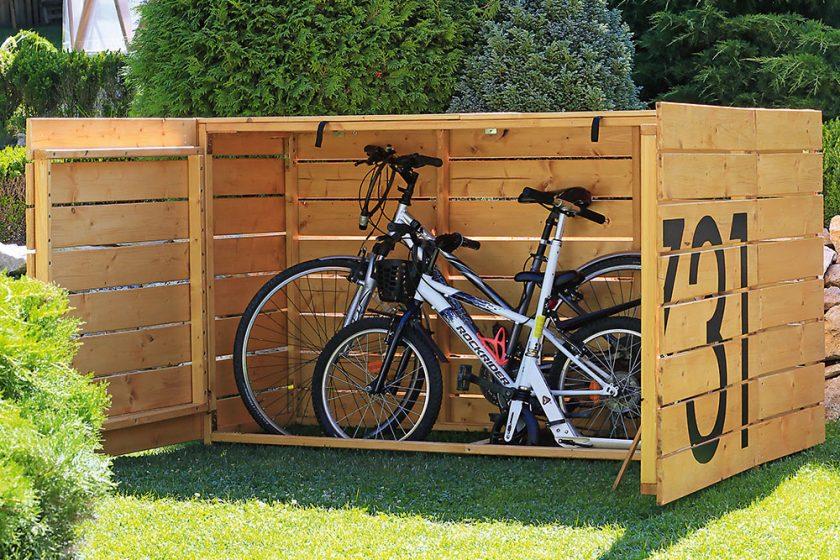 Úložisko na bicykle
