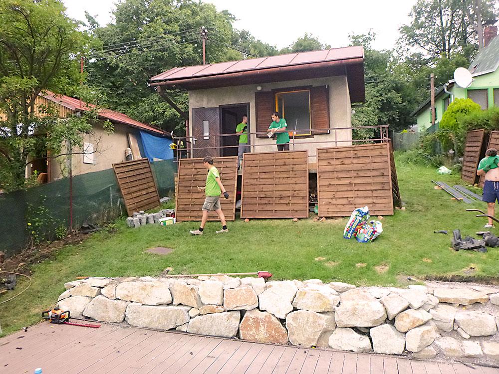 Záhradný múrik