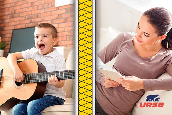 Akustické dosky URSA SILENTIO 33