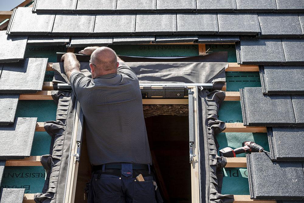 montáž strešných okien