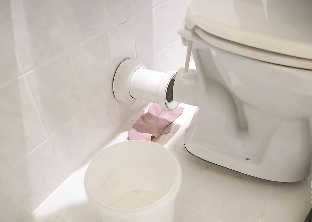 výmena WC misy