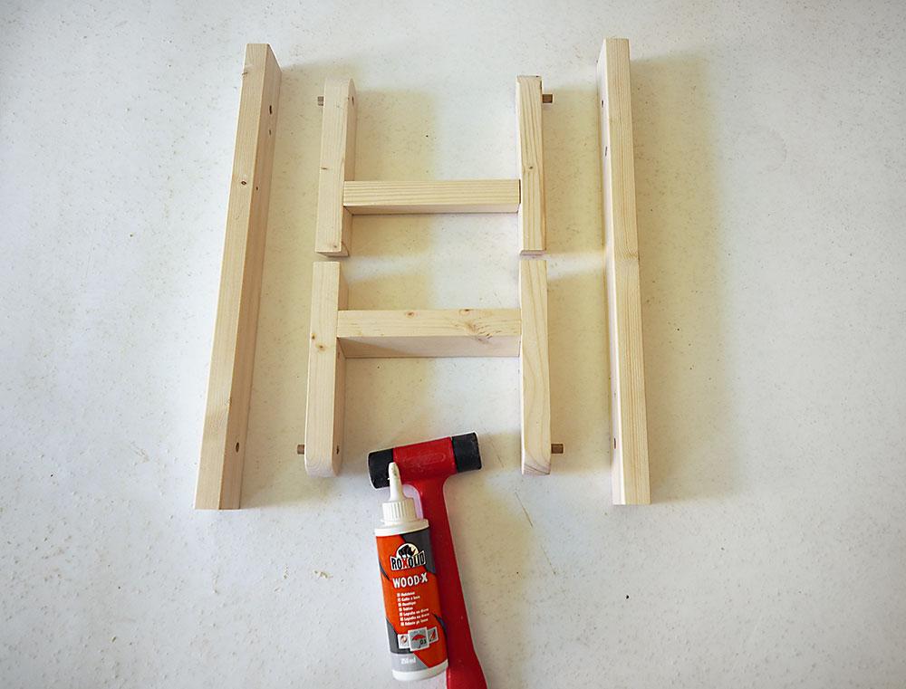 výroba dreveného rámu