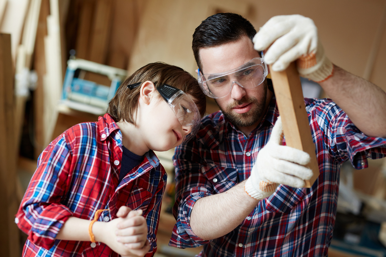 práca s drevom s deťmi