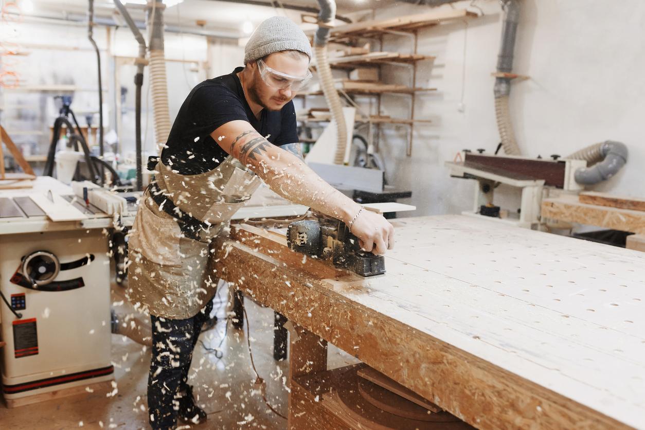 hobľovanie dreva