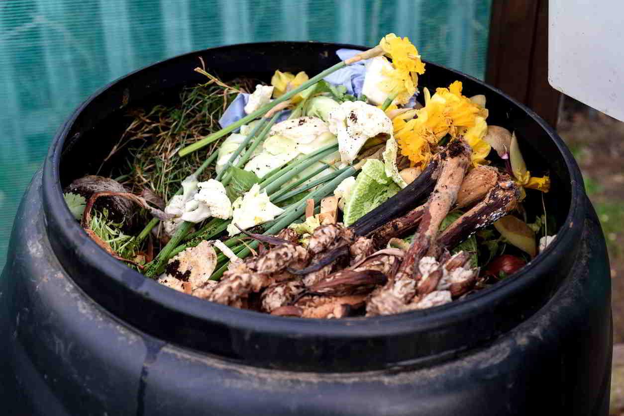 kompostovanie v záhrade