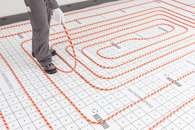 Teplovodné podlahové vykurovanie