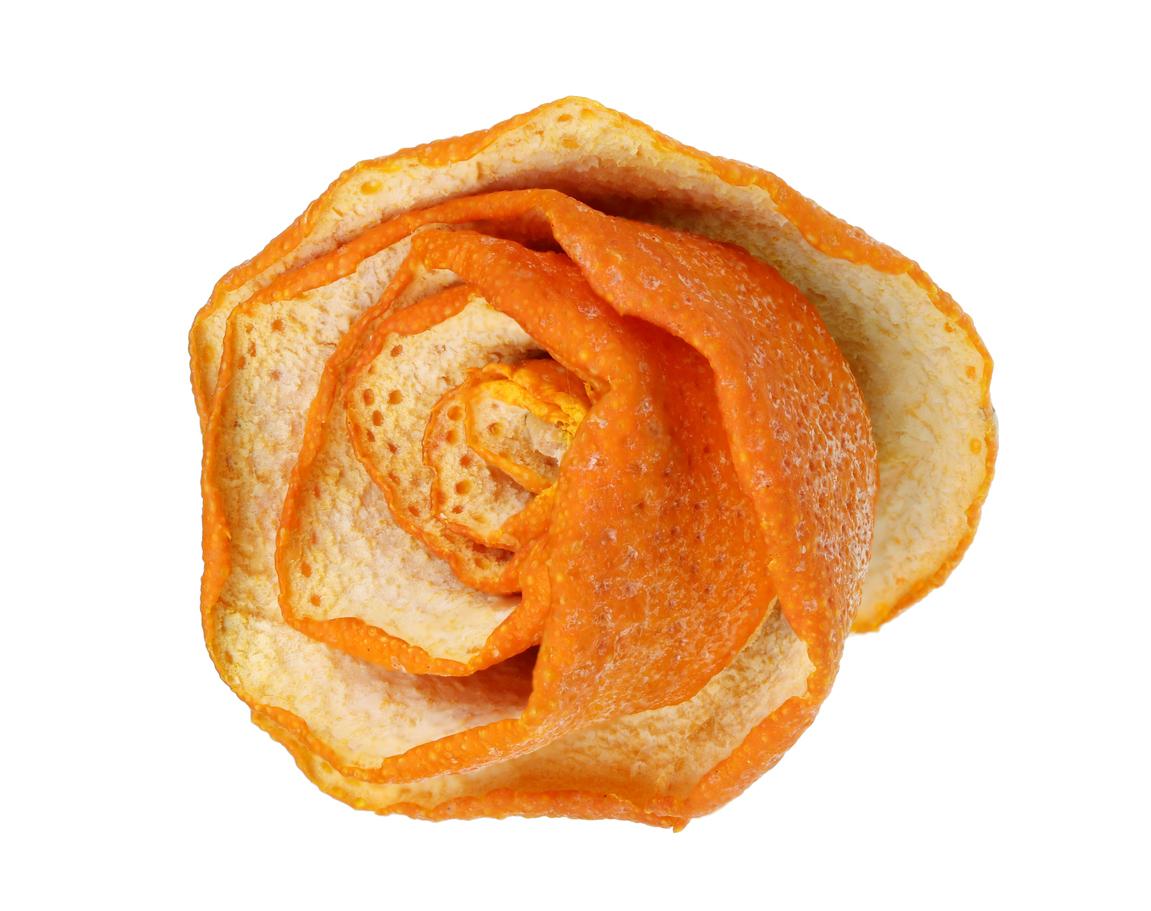 ruža z pomarančovej kôry