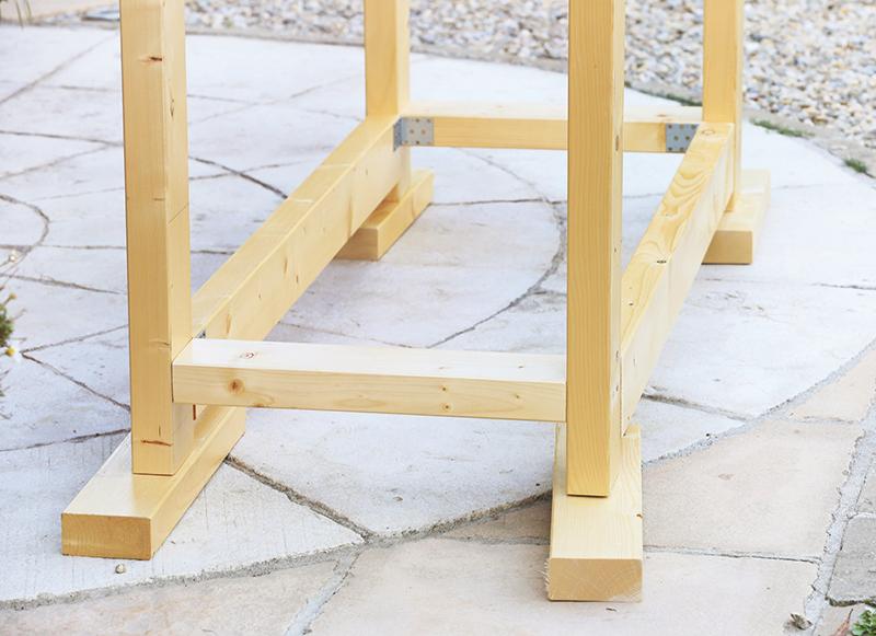 Základná konštrukcia stolíka