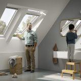 nové strešné okno s trojsklom