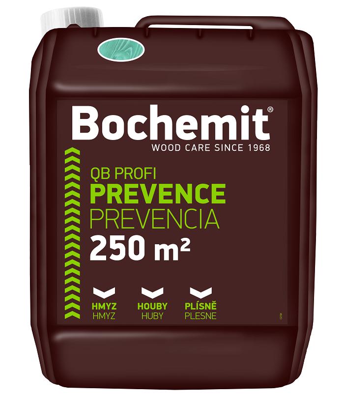 Bochemit QB Profi preventívne chráni drevo proti škodcom.