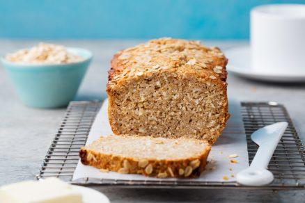 domáci ovsený chlieb bez droždia