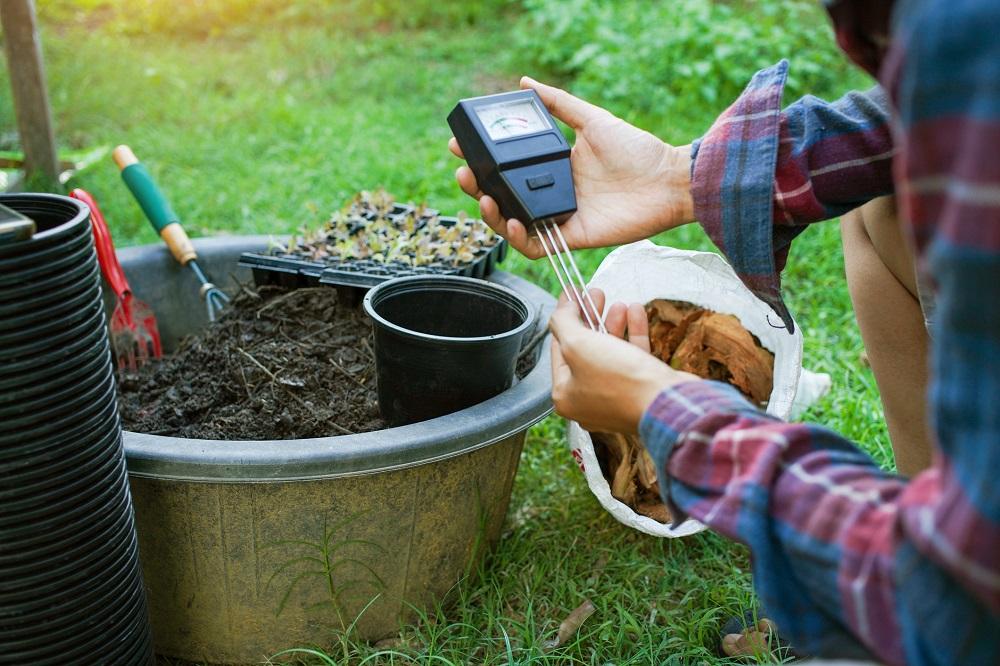 meranie pH pôdy