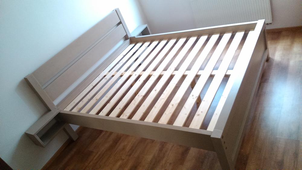 Finálna montáž postele