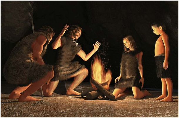 Homo erectus bol prvý človek, ktorý využíval oheň pre vlastnú potrebu.