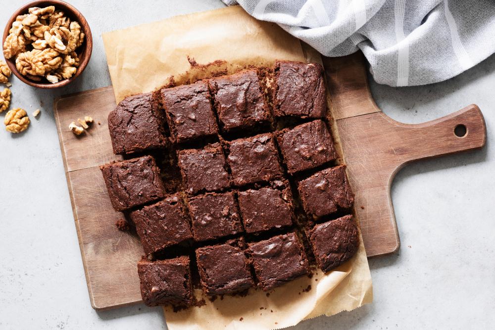 zdravé brownies