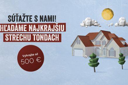 súťaž najkrajšia strecha Tondach