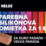 farebná silikónová omietka Heluz