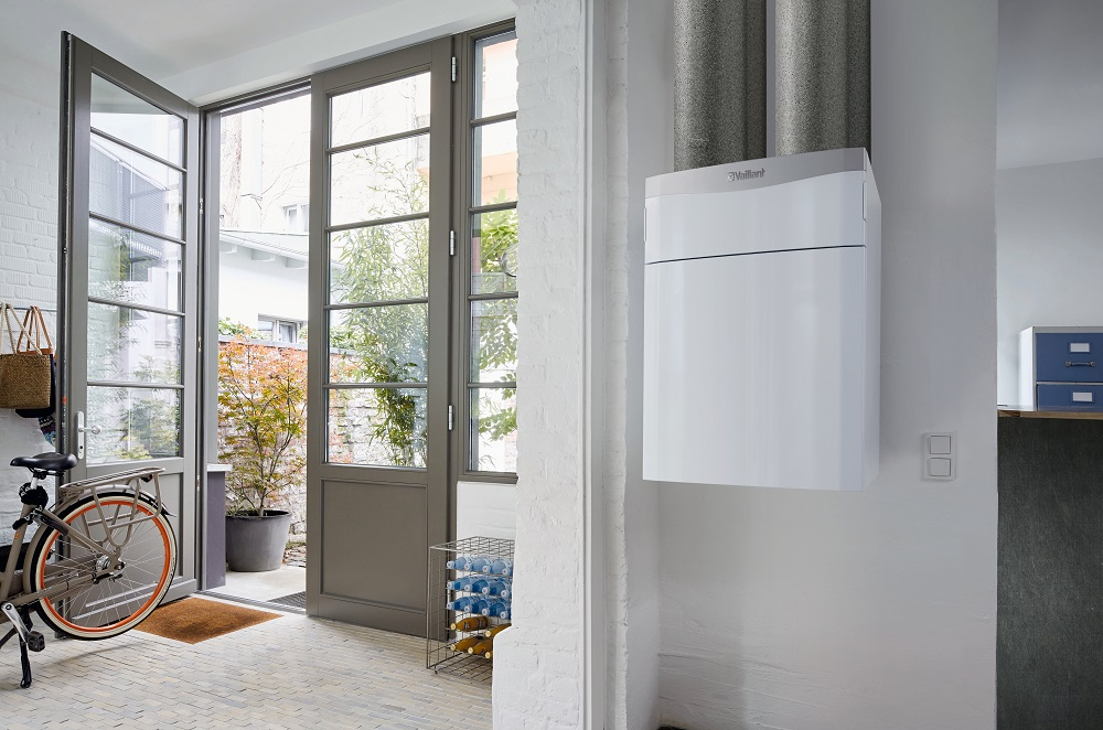 Centrálne riadené vetranie s rekuperáciou + tepelné čerpadlo aroTHERM plus vzduch/voda + fotovoltika