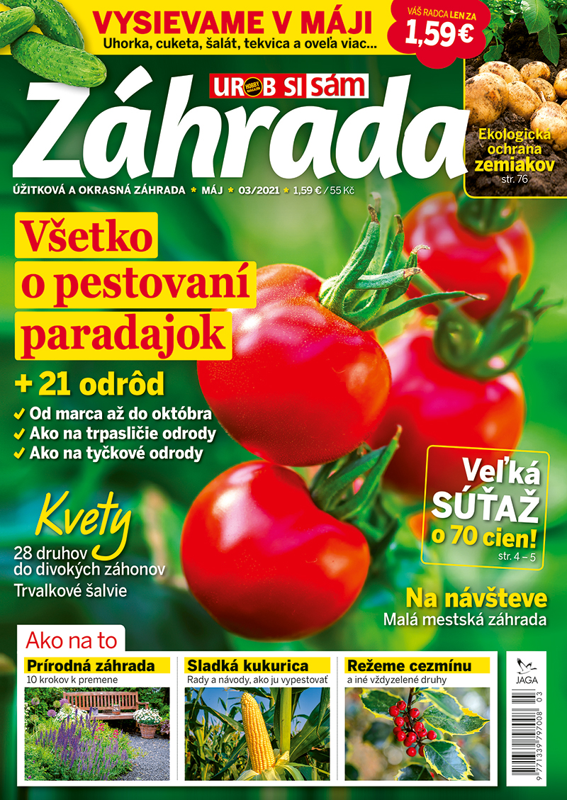 Časopis Záhrada 3/2021