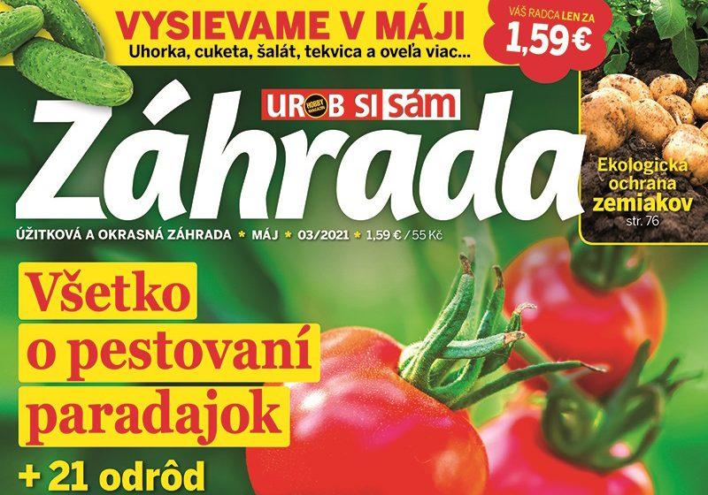 Журнал Záhrada 3/2021