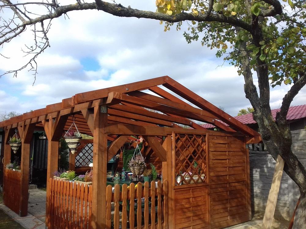 záhradný altánok