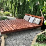 oddychová zóna v záhrade