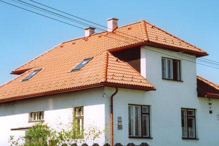 Strecha po rekonštrukcii