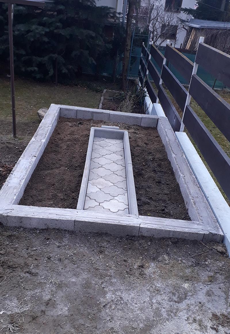 základy pre skleník