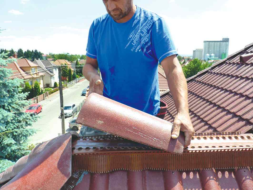 Dokončenie strechy