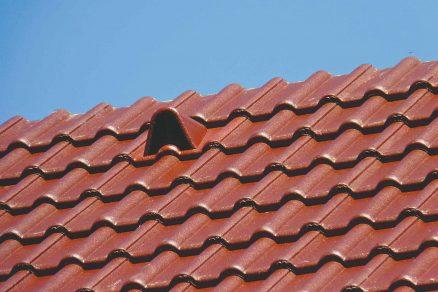 Hotová strecha s novou krytinou