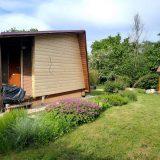 Záhradná chatka počas rekonštrukcie
