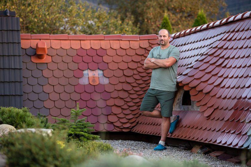Tesár Michal pri streche