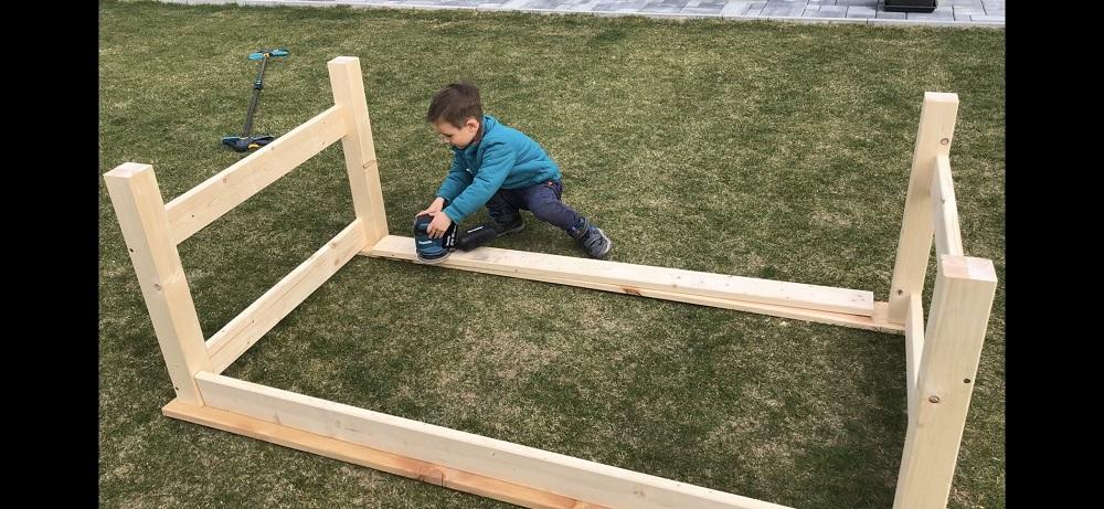 výroba terasového sedenia