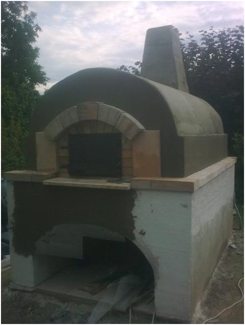 výroba domácej pece na chlieb a pizzu