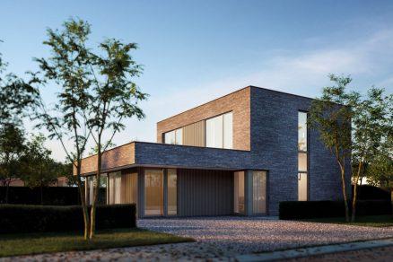 Rodinný dom moderný veľké okná