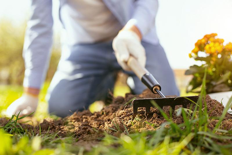 kyprenie pôdy